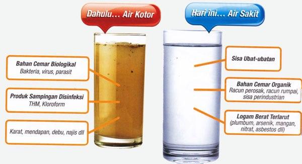 Kesan Minum Air Tak Bertapis Pada Kesihatan