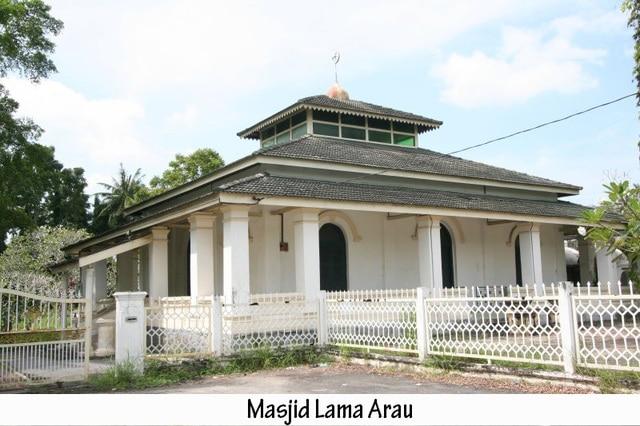 Masjid lama Arau