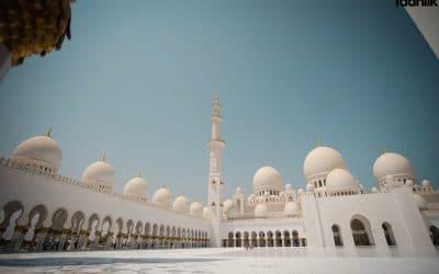 Jalan Ke Masjid Syeikh Zayed bin Sultan Hayyan al-Maktoum, Abu Dhabi