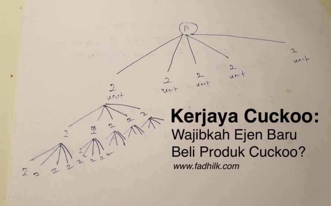 Kerjaya Cuckoo | Wajibkah Ejen Baru Beli Produk CUCKOO?