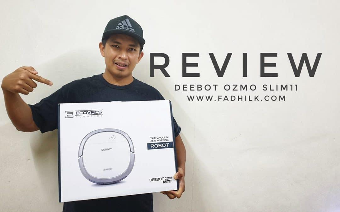 Unboxing & Review – Deebot Ozmo Slim11 Robotic Vacum