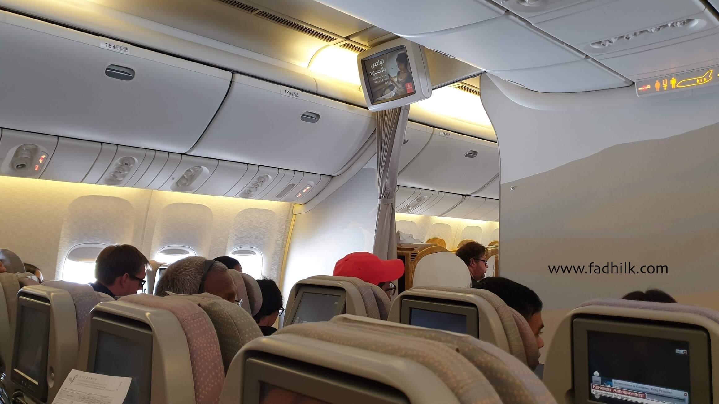 Bercuti ke dubai - emirates airlines 2
