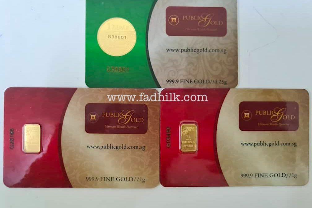 public gold emas dinar ejen dealer