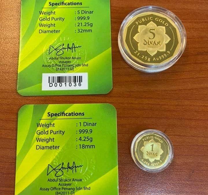 Dulu dapat hadiah 1 dinar RM700. Tahun 2020 harga naik RM1200!